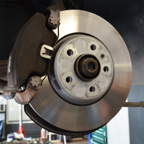 Diagnostics and maintenance of brake system, ABS, ESP