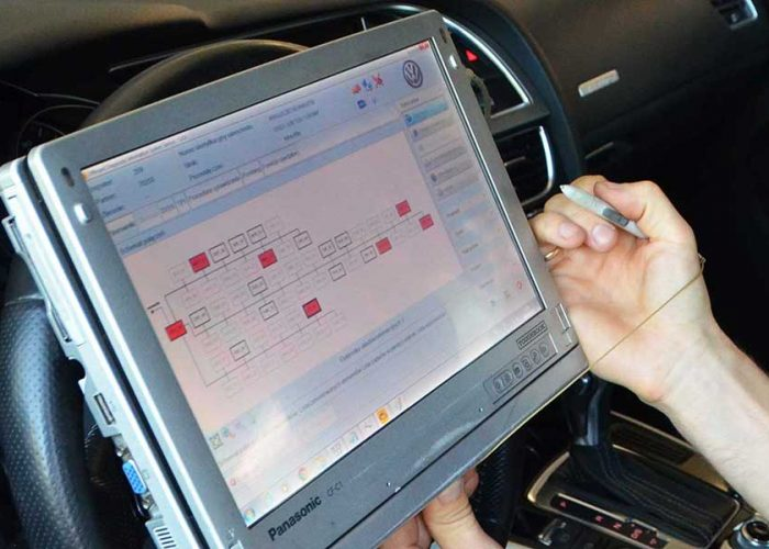 Diagnostyka silnika i elektroniki